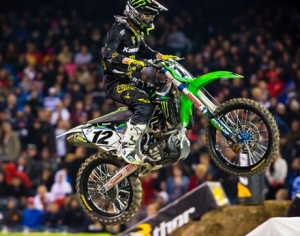 Monster Energy Kawasaki Starts the Season in Anaheim