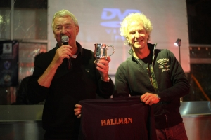 NILSSON, TIBBLIN AND HALLMAN HONOURED BY HUSQVARNA