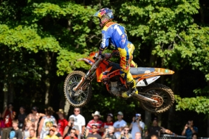 PAIR OF THIRDS FOR RED BULL KTM RIDERS AT UNADILLA