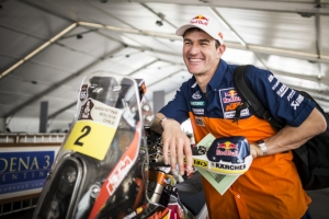 Coma a comfortable second after Day 1 of the Dakar 2014