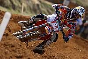 Jeffery Herlings continues to dominate the MX2 GP scene in 2013, earning his sixth victory of the season.