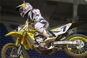 STEWART STILL POSTIVE AFTER MINNEAPOLIS SX