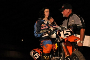 Jeremy Medaglia learning ropes of Arenacross