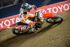 Hahn maintains 250SX East points lead with runner-up result in Toronto