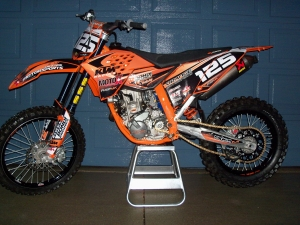 The Fire Breathing KTM