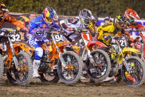 ROCZEN 2ND IN LITES WEST; DUNGEY 6TH IN 450