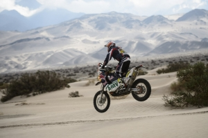 Caselli picks up second Stage win in first ever Dakar