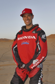 Johnny Campbell will represent TEAM HRC in the Dakar event.