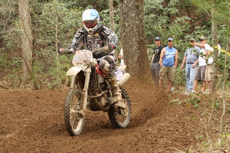Two Huskys in the Top Ten at GNCC Round Three