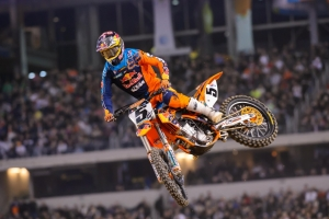 DUNGEY FINISHES 3RD OVERALL AT DALLAS SUPERCROSS
