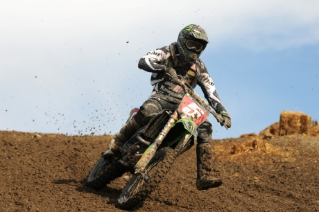 Georke narrowly missed taking his third overall for the season when Bobby Kiniry took the win in the second moto.