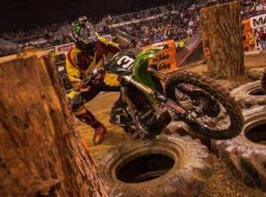 Monster Energy Kawasakis Justin Soul Nears the Podium at Boise EnduroCross