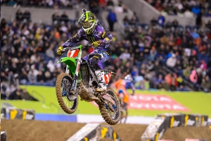 Monster Energy's Ryan Villopoto Extends Points Lead with Second-Place Finish in Seattle