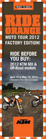 KTM Orange Moto Tour 2012