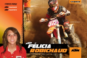 Quebec's top female off-road racer continues riding KTM: Felicia Robichaud ready for new challenges in 2013