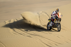 DESPRES OVERALL DAKAR LEADER AFTER STAGE THREE