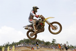 ANSTIE PODIUMS IN OPENING THAI MX2 RACE