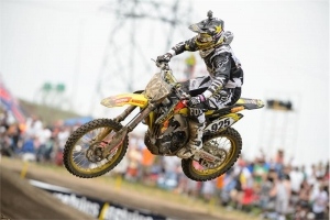 DESALLE AND STRIJBOS MAKE STRONG AMA DEBUT