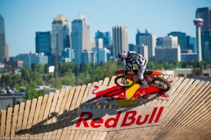 CORY GRAFFUNDER CROWNED RED BULL ROCKS & LOGS CHAMPION