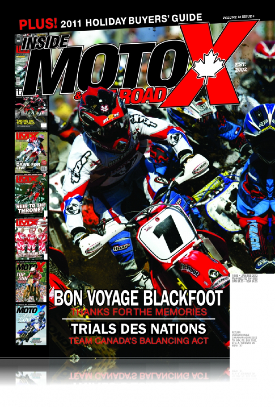 Inside MotoX & Off Road Volume 10 Issue 06