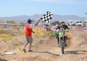 Monster Energy Kawasaki's Taylor Robert Takes Command of the WORCS Series at Lake Havasu