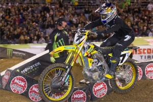 STEWART AND SUZUKI 4TH AT SAN DIEGO SX