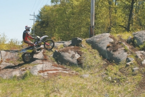 How To: Ride Up Rock Steps