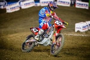 Troy Lee Designs Lands on the podium at Anaheim 2