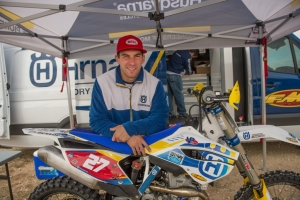 Husqvarna's DeLong Scores Another Solid GNCC Finish