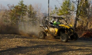 Can-Am Maverick 1000R X rs pilot Kyle Chaney Wins UTV Rally Raid Race In Tennessee