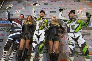 Team Babbitts Monster Energy/Amsoil Kawasakis Bowers and Villopoto Top the Podium in Tulsa