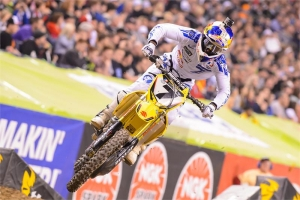 STEWART AND SUZUKI PODIUM AT INDY SX