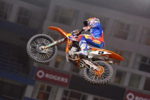 DUNGEY PODIUMS AT TORONTO SUPERCROSS: 5TH FOR ROCZEN