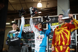 Canadians on podium at Everett Endurocross