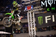 Monster Energy Kawasaki's Ryan Villopoto Thrills the Crowd in Minneapolis