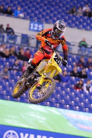 TICKLE SCORES BEST SX FINISH AT INDY