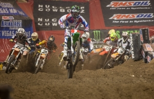 Babbitts Monster Energy/Amsoil Kawasakis Bowers and Ames Win in Worcester