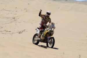 "Patrick Beaule - Dakar Stage 12 Update ""Fiambala to Copiapa"""