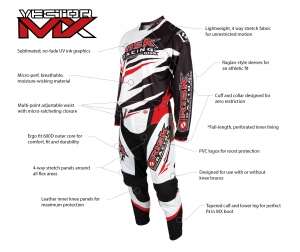 Risk Racing® Vector MX Gear